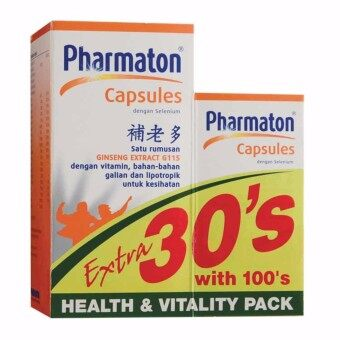 Pharmaton with Selenium 100+ 30 Capsules