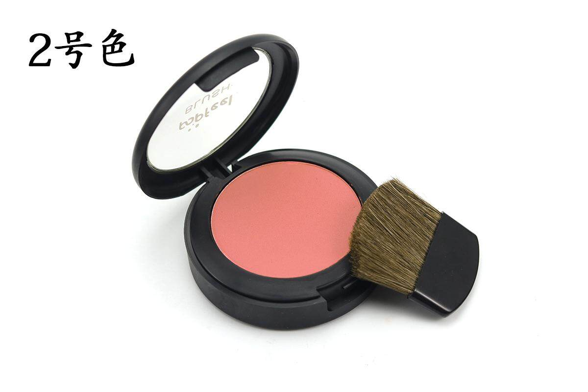 Popfeel Blush Powder With Mirror 6 Colors Blusher Brush Three In One Makeup No.2 - intl Philippines