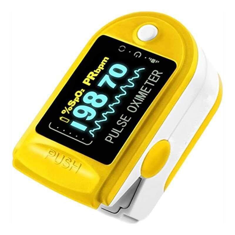 Portable Fingertip Pulse Oximeter Blood Oxygen Saturation Heart SPO2 Monitor bán chạy
