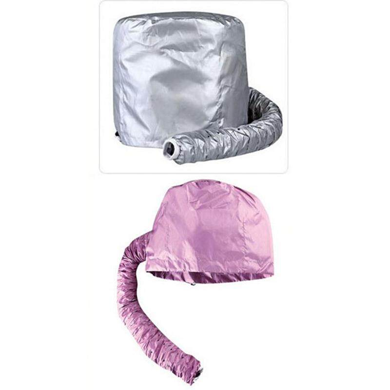 Practical Home Salon Barber Hair Dryer Bonnet Hood Attachment Hairdressing Hat Cap Random Color - intl