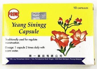 Prime Yeang Siningg Capsule 疏经丸 (Regulates Menstruation)