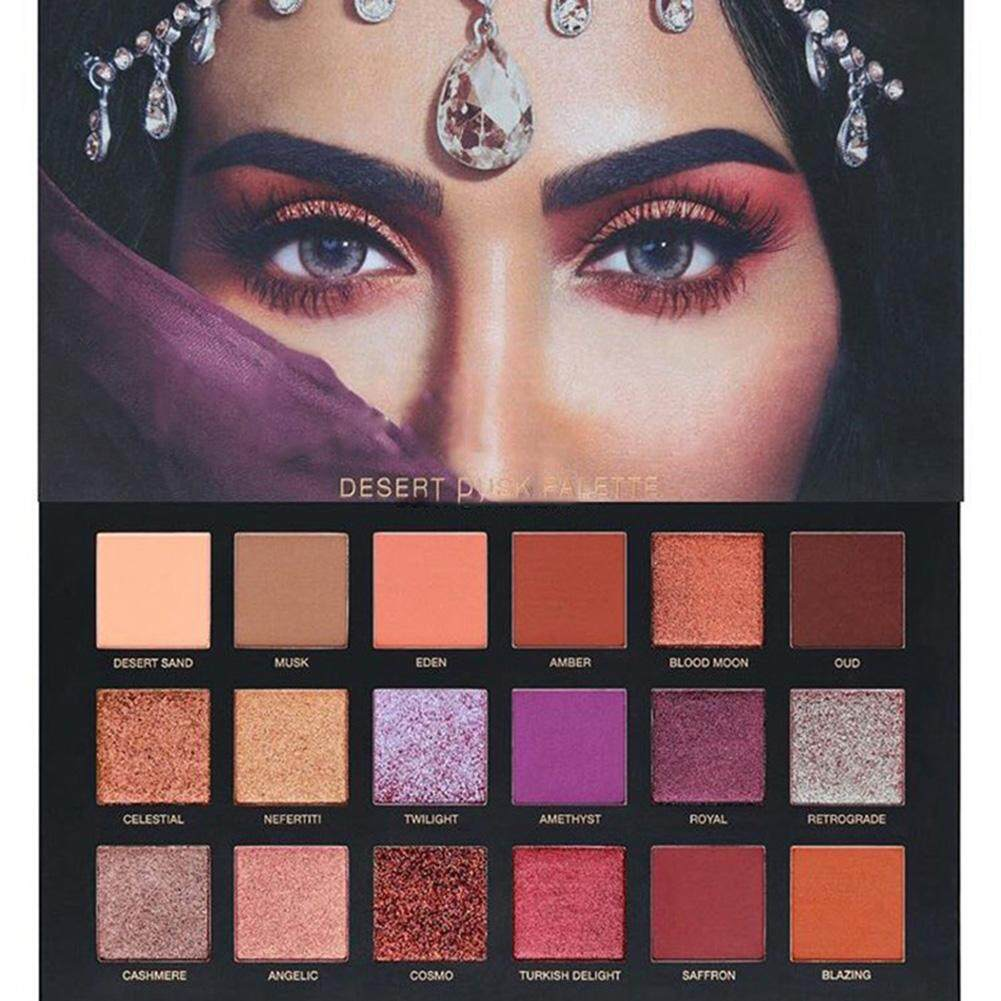 Pro 18 Colors Lady Shimmer Matte Eyeshadow Palette Set Makeup Cosmetic Eye Shadow