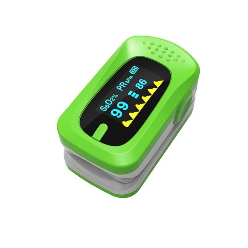 Pulse Oximeter Blood Pressure Oxygen Finger Tip Oxymeter SPO2 PR Monitor Tool bán chạy