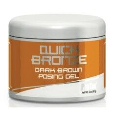 Pro Tan Quick Bronze Dark Brown Posing Gel (2 Fl. Oz.) By Musclemaniaclub.