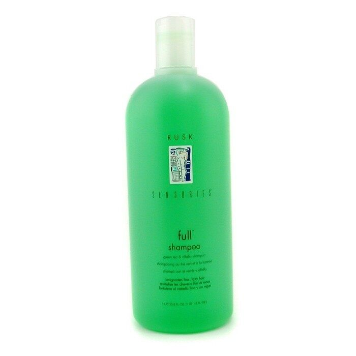 Rusk Sensories Full Green Tea and Alfalfa Bodifying Shampoo