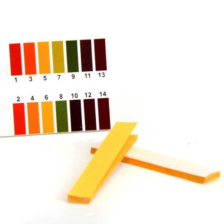 HUADE Pack of 80 Strips PH 1-14 Universal Indicator Test Papers - intl