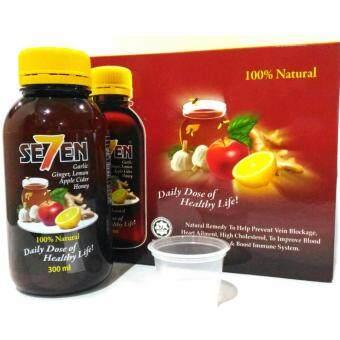 SE7EN Mixed Botanical Drink (Ginger, Garlic, Lemon, Apple Cider and Honey)