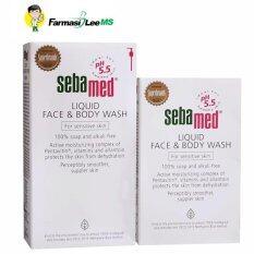 Sebamed Liquid Face & Body Wash 1000ml+200ml (exp 10/2020) By Farmasi Lee Ms.