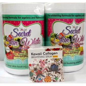 Secret Skin White Kawaii Collagen Twin Set Harlina [ORIGINAL WITH BARCODE]