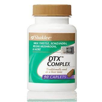 Shaklee DTX Complex 90 caplets (FREE SHIPPING) - Best Liver Detox Formula