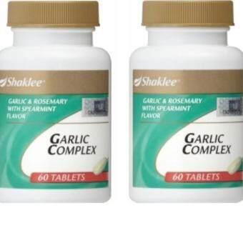 Shaklee Garlic Complex Twin Pack (60 Tablets x 2 Bottles)
