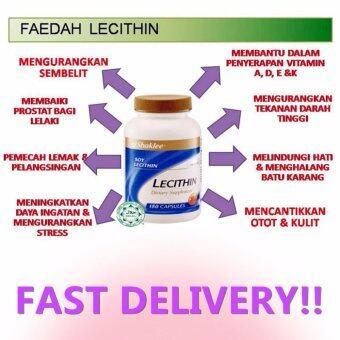 Shaklee Lecithin [FREE SHIPPING] naturally sourced from soybeans 180 CapsulesX1 (Kurangkan lemak, sembelit)