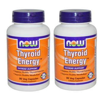 NOW THYROID ENERGY, THYROID SUPPORT Twin Pack