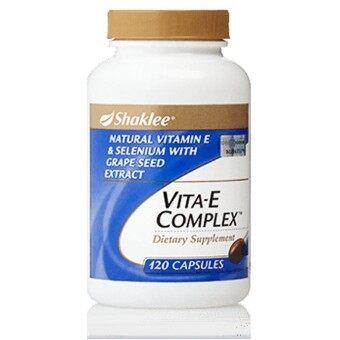 Shaklee Vita E Complex 120 Capsules - Halal