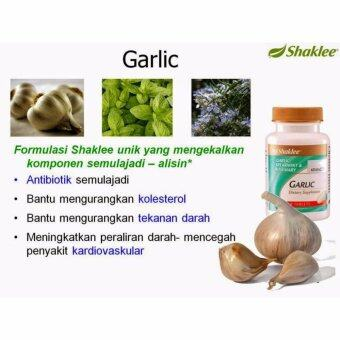 Shaklee Garlic Complex [FREESHIPPING] 60TabletsX1-reliefofcough,coldandfluandimprovesbloodcirculation