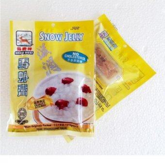 Snow Deer snow jelly 10g X 2 PAC PROMOTION 雪蛤