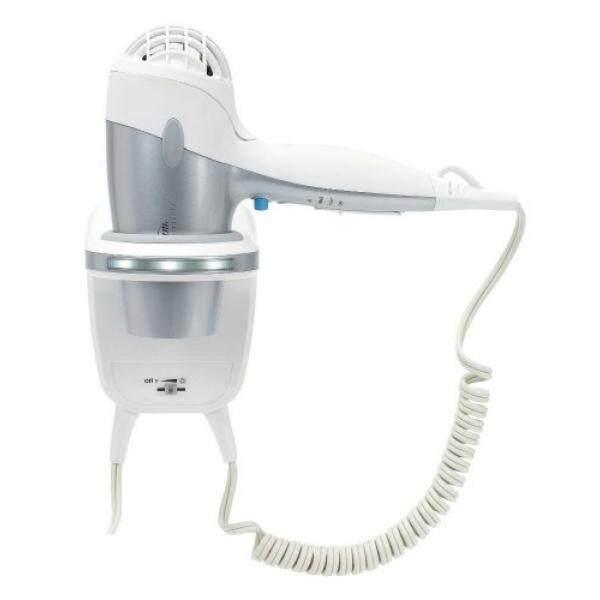 Sunbeam HD3003-001 1500 Watt Wall Mount Hair Dryer with LED Night Light - intl