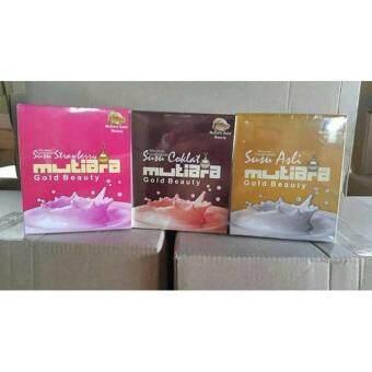 SUSU MUTIARA GOLD BEAUTY (COKLAT/ASLI/STRAWBERRY) ~ MURAH, ORIGINAL & MALAYSIA