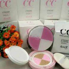 Sweetv Cc Make Up & Finish Radiant Cc Cushion Spf35 Pa++ By Metaldome Trading.