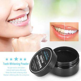 Teeth Powder Oral Activated Charcoal Teeth Stain Remover Powder Toothpaste Black