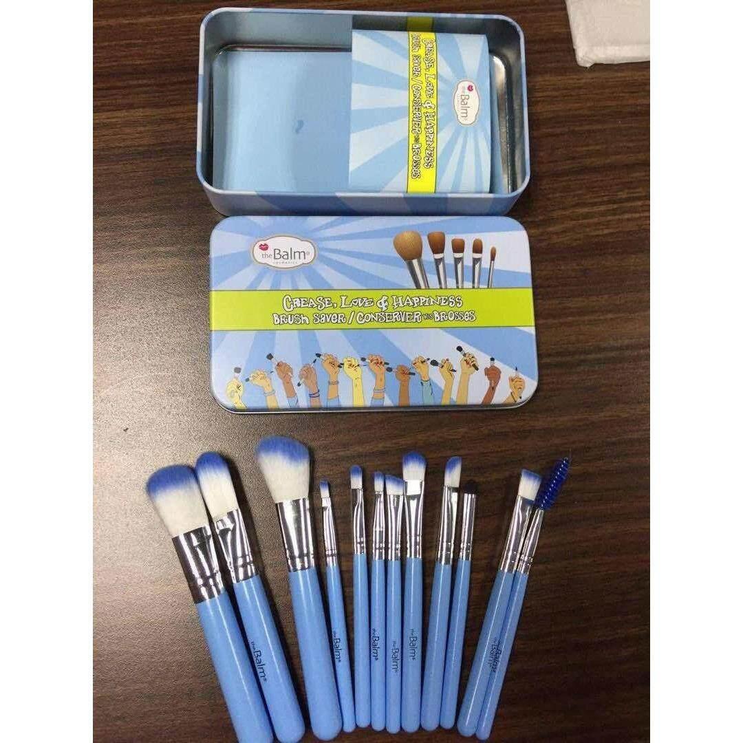 THE BALM Makeup Brush Set 12pcs