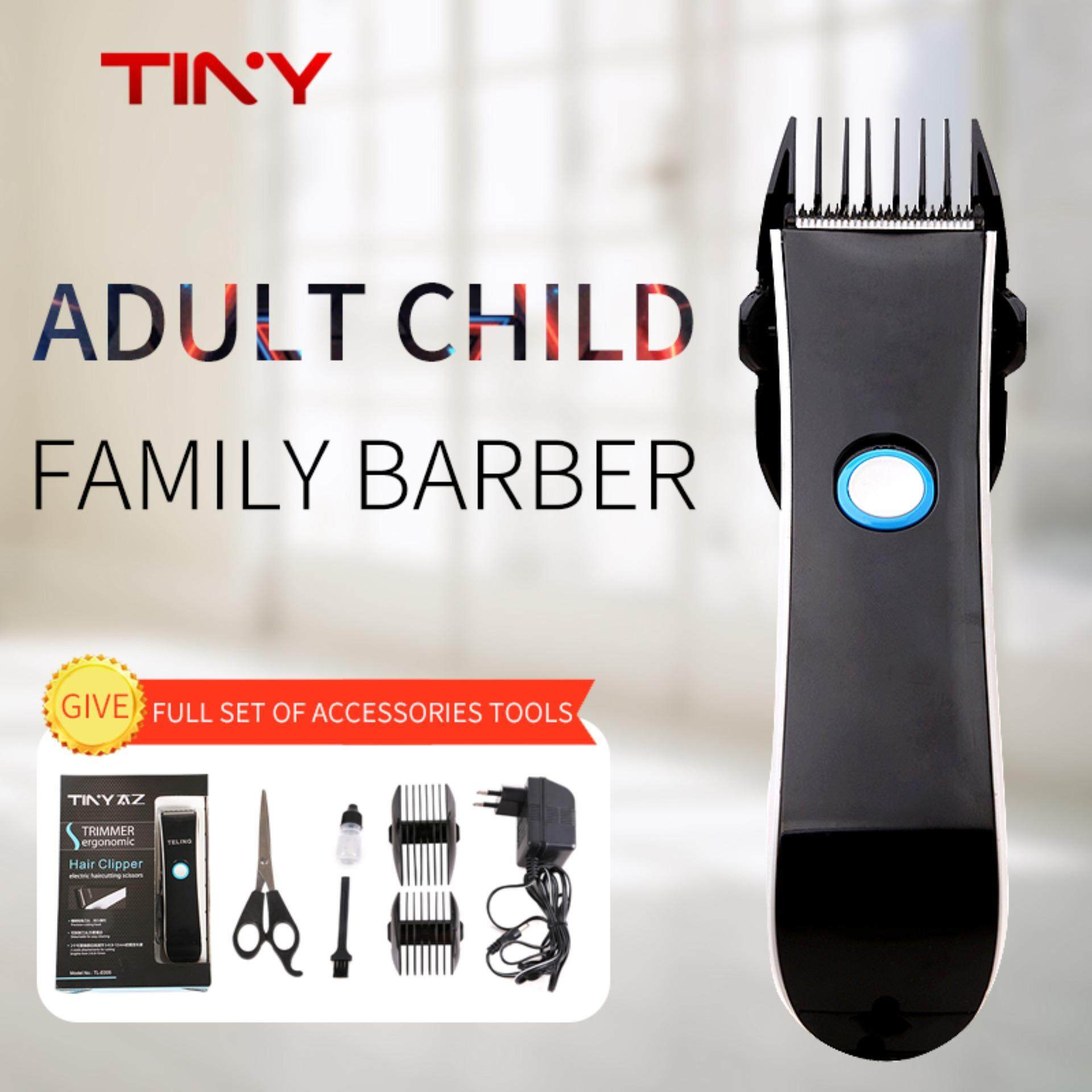TINY Rechargeable Hair Trimmer Professional Electric Hair Clipper Beard Men Shaver Razor Cordless Hair Removal Cutting Machine