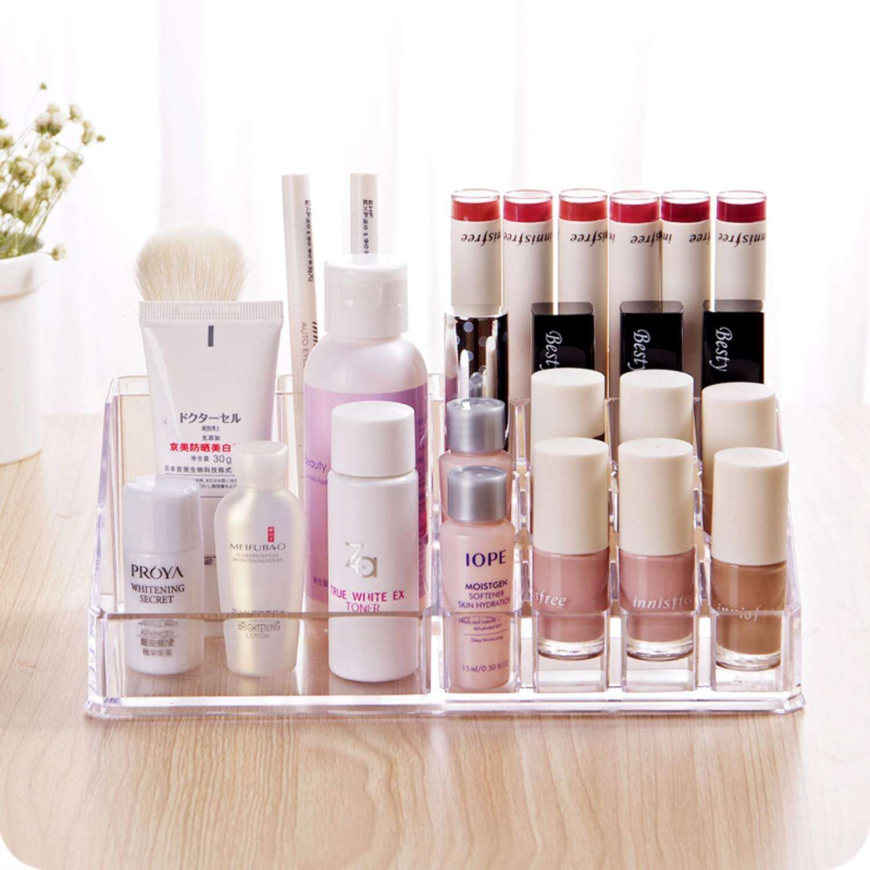 Harga Jual Rak Kosmetik Acrylic 72000 Display Lipstik Desktop Storage Rotate Kotak Kuas Make Up Kutek Murah Garansi Dan Berkualitas