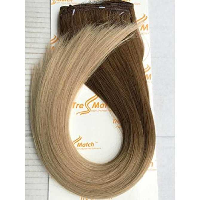 Tressmatch 2022 Clip In Premium Remy Human Hair Extensions Thick