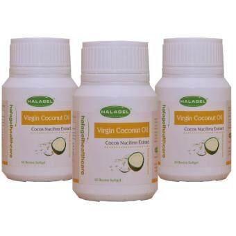 Triplet Halagel Virgin Coconut Oil 60's