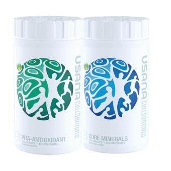 USANA CELLSENTIAL (112 tablets x 2 Bottles)  Core Minerals and Vita-Antioxidant