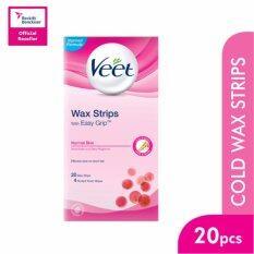 Veet Hair Removal Wax Strip Normal Skin 20'S