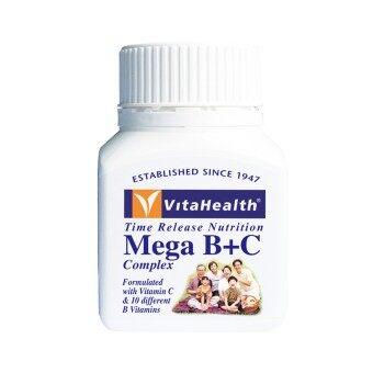 Vitahealth TRN Mega B+C Complex 130 tablets