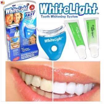 White Light Teeth Whitening System(FULL SET) + FREE EXTRA 2 tubes of  Whitening bb0052cedc