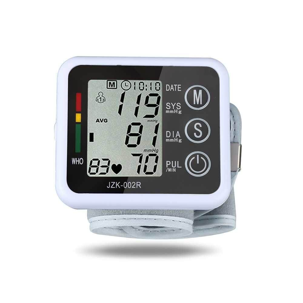 Wrist Blood Pressure Monitor Digital Lcd Screen Heart Pulse Bp Monitor Device Intl Oem Discount