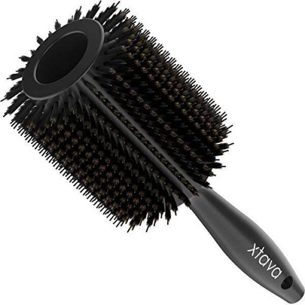 Xtava 55 Liontin Ganda Sikat Tubuh-PRO Volume Salon Sikat Bulat untuk Pengering  Rambut Alami d32032fda8