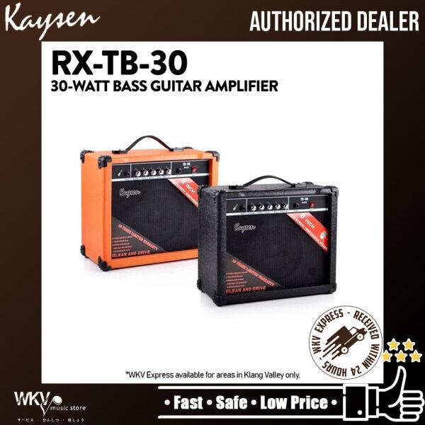 Kaysen RX-TB30 30Watt Bass Guitar Amplifier Speaker -Black (RX-TB-30 / RX TB30) Malaysia