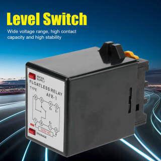 AFR-1 AC 220V Bộ điều khiển mức chất lỏng Rơle công tắc mực nước thumbnail