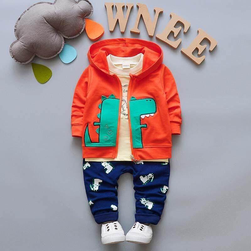 ae5a2196c02ab BibiCola baby Boys Clothing Sets Tracksuit Boys Clothes Suits Cartoon Kids  Boys Hoodie Jacket+Tshirt