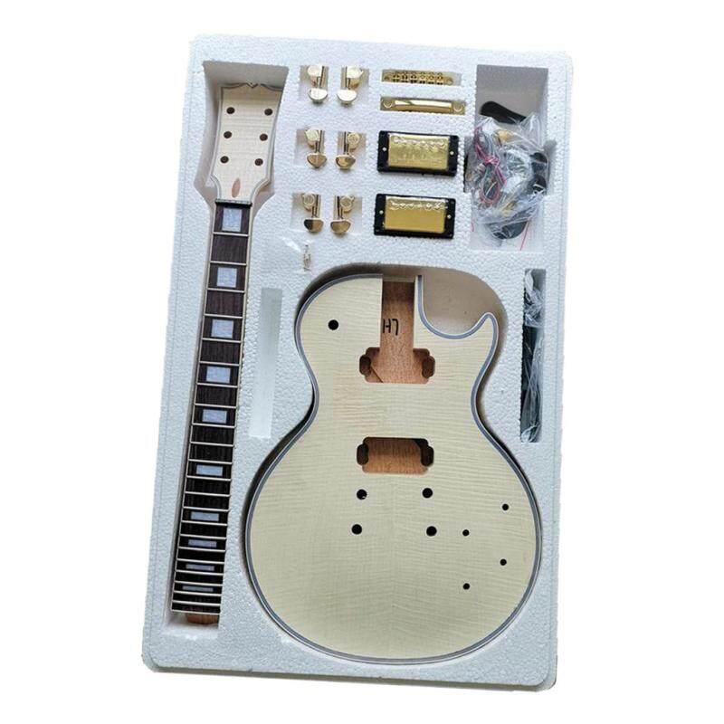 Baoblaze DIY Electric Guitar Kits For LP Style Guitar Okoume Body Malaysia