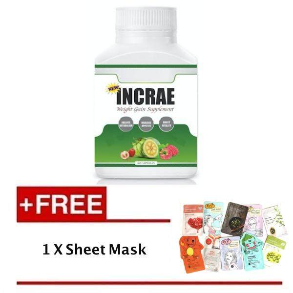[Ready Stock] INCRAE Weight Gain + Free Sheet Mask