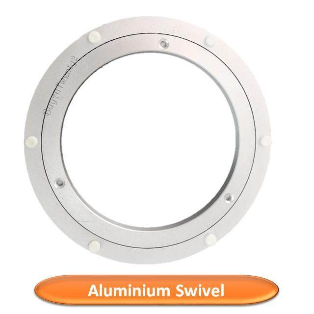 "16"" Aluminium Rotating Bearing Turntable Round Table Swivel Lazy Susan Dining By Buyattwenty2."