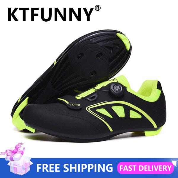 KTFUNNY Đi Xe Đạp Cho Nam Giày Tốc Độ Tự-Khóa MTB Giày Nam Giày Đi Xe Đạp Xe Đạp Đua Sneakers Triathlon Mtb Sneaker Kích Thước 39-46