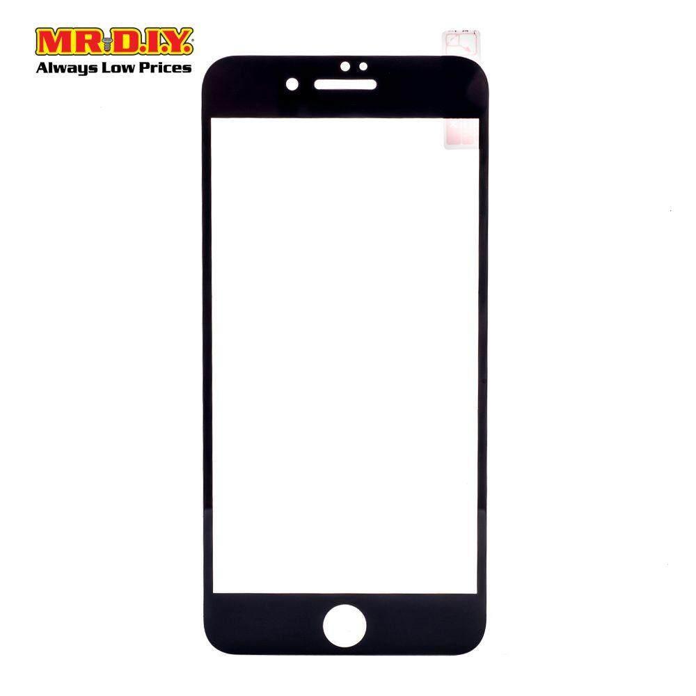 LANBI Tempered Glass 3D Edge Glass IPhone 7 Plus / IPhone 8 Plus Full Black