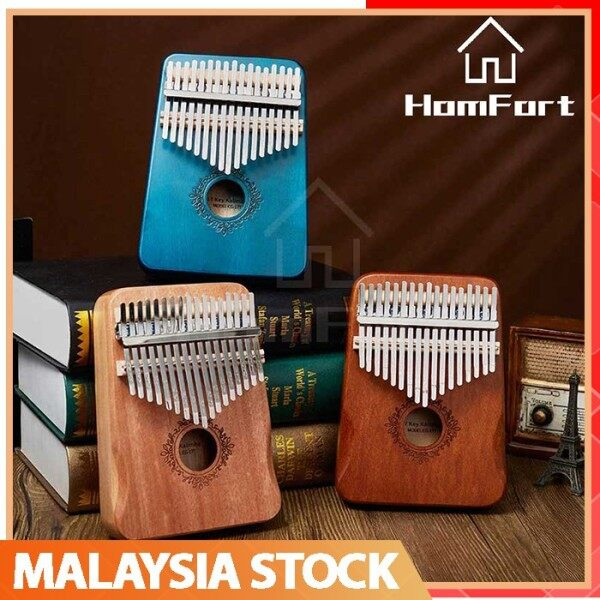🇲🇾Stock 🔥HOT🔥Kalimba 17 Key Mahogany Body Thumb Piano Musical Instrument Thumb Piano Malaysia