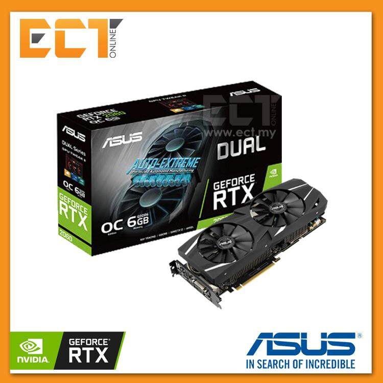 Asus Dual GeForce® RTX™ 2060 OC Edition 6GB Graphics Card With NVIDIA Turing™ GPU Architecture
