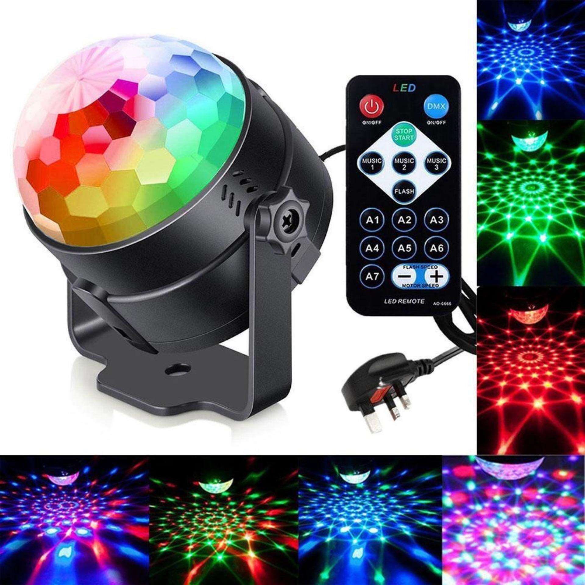 Womdee Sound Activated Party Lights, 2018 Version Disco Ball DJ Lights With 3 Modes,