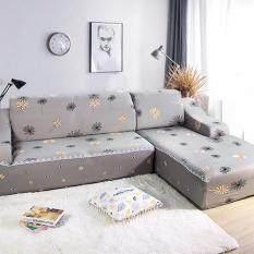 [Nửa bộ / Chỉ 1 miếng] Bọc Sofa Phổ Thông Hình Dạng L Bọc Sofa Mềm Tất Cả Được Bọc Dễ Dàng Lắp Đặt Bọc Sofa Với 1 Vỏ Gối Miễn Phí có Gậy Xốp Kiểu 21-40