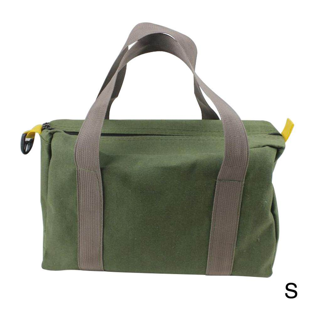 Waterproof Green Storage Wear Resistant Canvas Portable High Capacity Multifunction With Handle Tool Bag