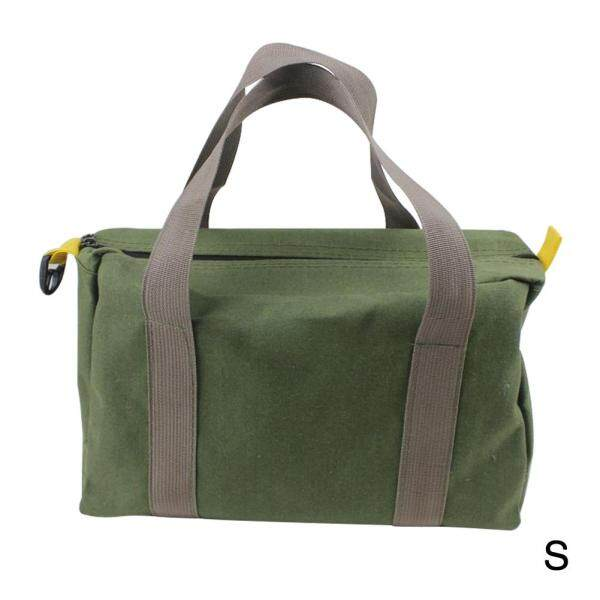 Waterproof Green Storage Wear Resistant Canvas Portable High Capacity Multifunction With Handle Tool Bag