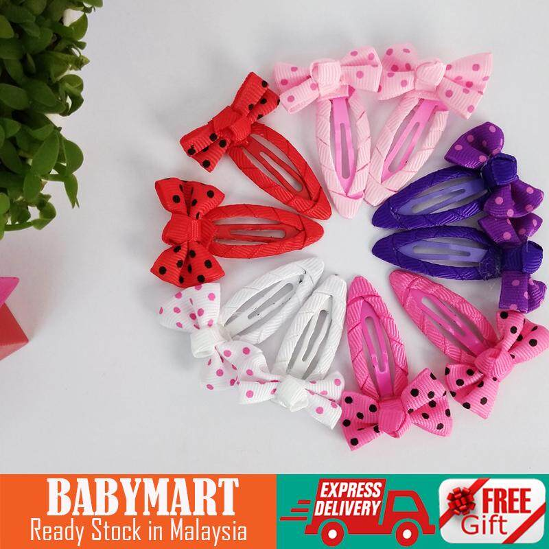835ec2be4 Baby Kids Girl Hair Accessories Assorted Hairpins Set Kids Baby Girls Sweet  Bowknot